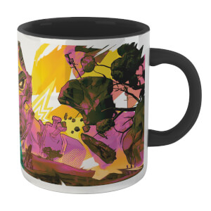 Borderlands 3 Fustercluck Mug - White/Black
