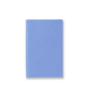 Smythson Panama Notebook - Nile Blue