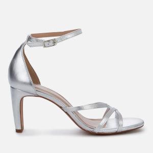 Whistles Women's Hallie Strappy Heeled Sandals - Silver