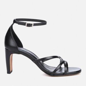 Whistles Women's Hallie Strappy Heeled Sandals - Black