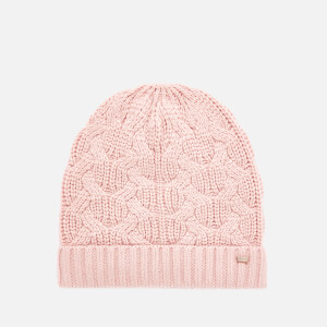 Ted Baker Women's Natiyya Knitted Cable Hat - Light Pink