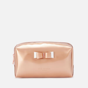 Ted Baker Women's Halsey Bow Makeup Bag - Rose Gold
