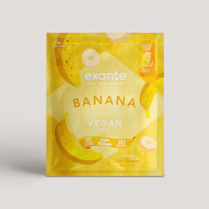 Vegan Meal Replacement Box of 7 Banana Shakes