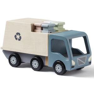 Kids Concept Garbage Truck - Grey