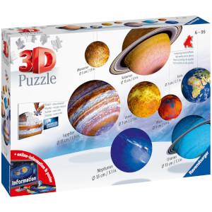 Ravensburger Planetary Solar System 3D Puzzle