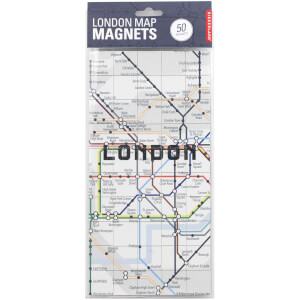 Kikkerland London Map Magnets