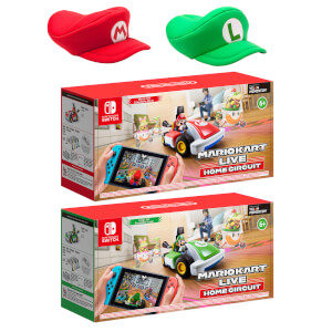 Mario Kart Live: Home Circuit - Mario and Luigi Double Pack