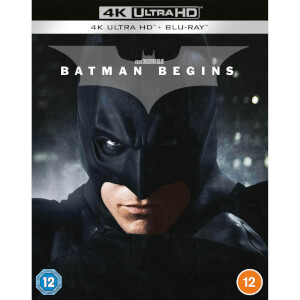 Batman Begins - 4K Ultra HD (Includes 2D Blu-ray)