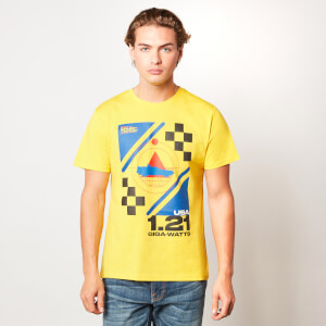 Back to the future 1.21 Giga-watts Unisex T-Shirt - Yellow