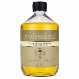 Professional Range Ginger and Juniper Warming Oil 500ml