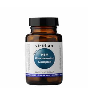 Glucosamine with MSM Veg Caps - 30 Capsules