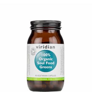 Organic Soul Food Greens Veg Caps - 90 Capsules