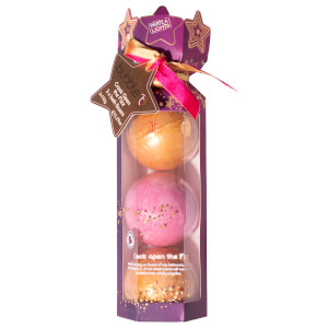 Bubble T Cosmetics Crack Open the Fizz Bath Fizzer Collection