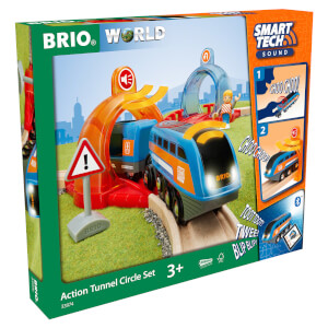 Brio Smart Tech Sound - Railway Action Tunnel Travel Set