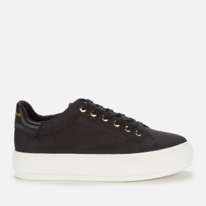 Kurt Geiger London Women's Laney Recycled Flatform Trainers - Black