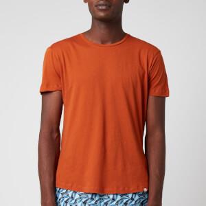 Orlebar Brown Men's Ob-T Round Neck T-Shirt - Dark Tan