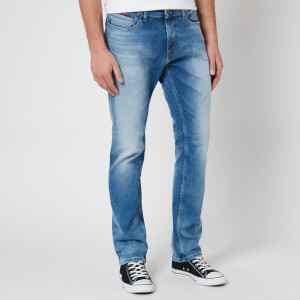 Tommy Jeans Men's Scanton Slim Jeans - Wilson Light Blue Stretch