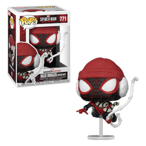 Marvel Spiderman Miles Morales Winter Suit Pop! Vinyl