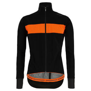 Santini Guard Mercurio Rain Jacket - Black