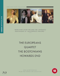 Merchant Ivory Boxset (Quartet / Howard's End / The Bostonians / The Europeans)