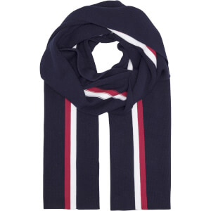 Tommy Jeans Men's Corporate Pima Cotton Scarf - Tommy Navy