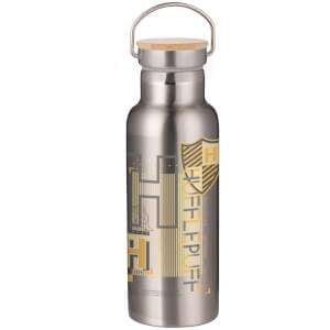 Harry Potter Hufflepuff Portable Insulated Water Bottle - Steel