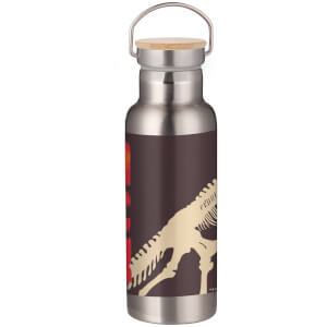 Jurassic Park Skeleton Portable Insulated Water Bottle - Steel