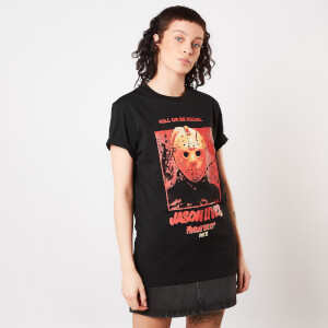Friday 13th Jason Lives Women's T-Shirt - Black