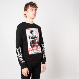A Nightmare On Elm Street Dont Fall Asleep Sweatshirt - Black