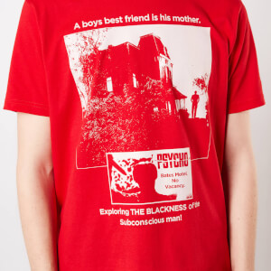 T-Shirt Psycho Mother Knows Best - Rosso - Uomo