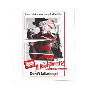 A Nightmare On Elm Street Freddy Kreuger Couverture Plaid