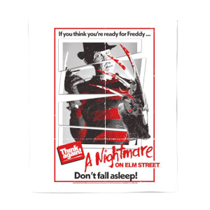 A Nightmare On Elm Street Freddy Kreuger Couverture Plaid