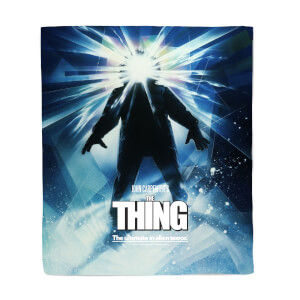 The Thing Fleece Deken