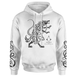 Assassins Creed Wolf Hoodie - White