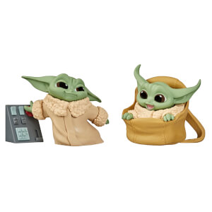 Hasbro Star Wars The Bounty Collection L'Enfant Course Speeder et Touche aux Boutons Pack de 2