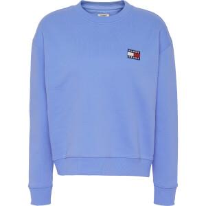 Tommy Jeans Women's TJW Tommy Badge Crew Sweatshirt - Ultramarine