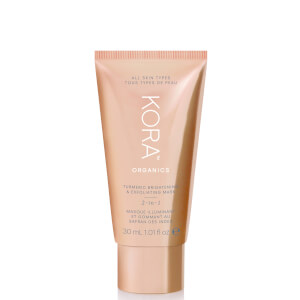 Kora Organics Turmeric Brightening and Exfoliating Mask 30ml