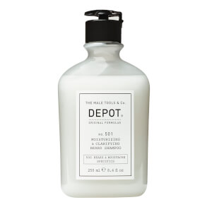 Depot No.501 Moisturising and Clarifying Beard Shampoo 250ml