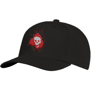 Grimmfest 2020 Skull Logo Embroidered Cap
