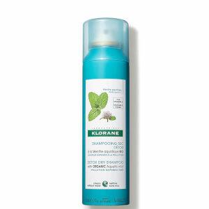 KLORANE Champú seco Detox con menta acuática orgánica para cabellos expuestos a la contaminación 150ml