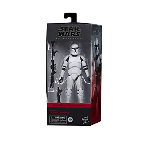 Hasbro Star Wars The Black Series Phase I Clone Trooper Toy 6-Inch Scale Star Wars: The Clone Wars Figure