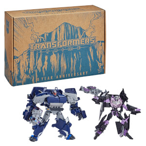 Hasbro Transformers: Prime War Breakdown and Vehicon 2-Pack Re-Issued Version