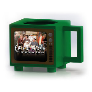 Friends Retro TV Heat Changing Mug