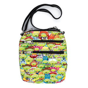 Loungefly Disney Pixar Toy Story Alien Outfits Aop Nylon Passport Bag