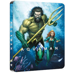 Aquaman -Steelbook 4K Ultra HD Steelbook (Blu-ray 2D Inclus) - Exclusivité Zavvi