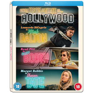 Once Upon a Time In Hollywood - Zavvi Exclusive Blu-ray Steelbook