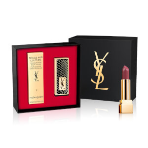 YSL Rouge Pur Couture Lipstick 09 and Black Reptile Cap Set