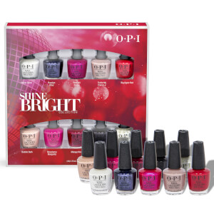 OPI Shine Bright Collection Nail Polish Mini Gift Set 10 x 3.75ml