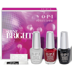 OPI Shine Bright Collection Infinite Shine Gift Set 3 x 15ml