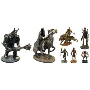 Mystery Lord of the Rings Collector's Set of 10 Figures